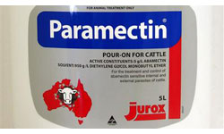 Paramectin products at Tuam Mart Store